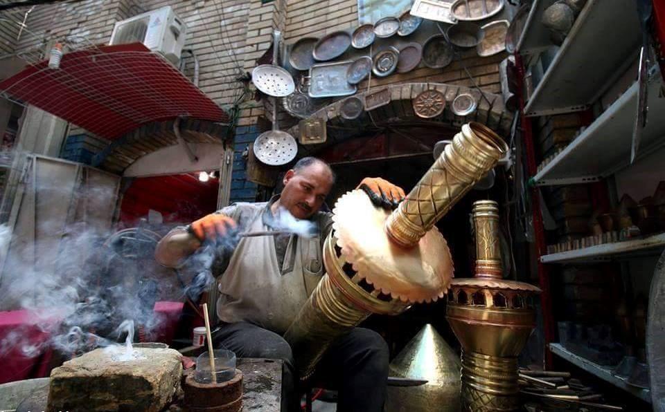 صوت العراق بالصور مهن تراثية قديمة تصارع من أجل البقاء في بغداد